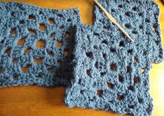 comecar croche com squares quadrados