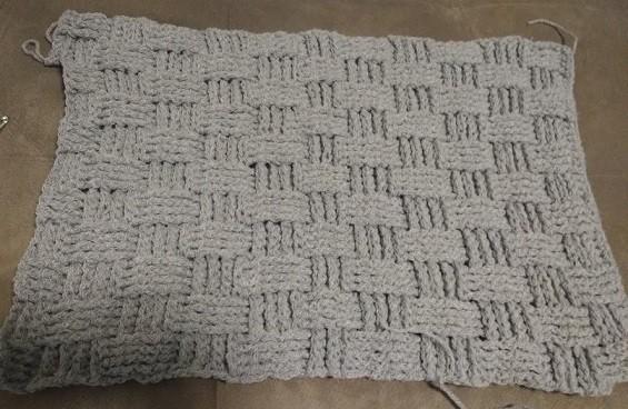 projeto de almofada de croche