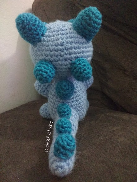 My Friend Dinosaur Dino - Amigurumi Crochet Pattern / PDF e-Book ... | 589x442