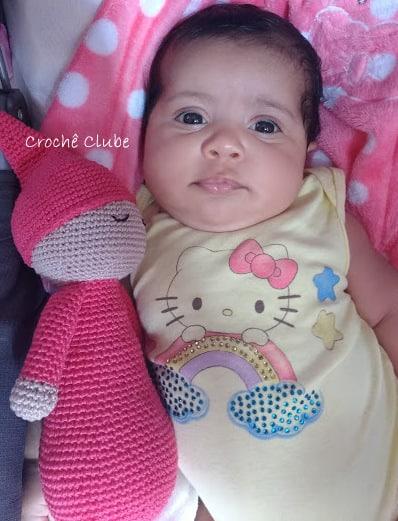 Receita Boneca Bebe Yoyo amigurumi | Crochet toys free, Crochet ... | 521x398
