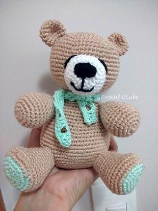 Urso Polar - padrão | Tricô e crochê, Amigurumi de croche, Bonecas ... | 413x310
